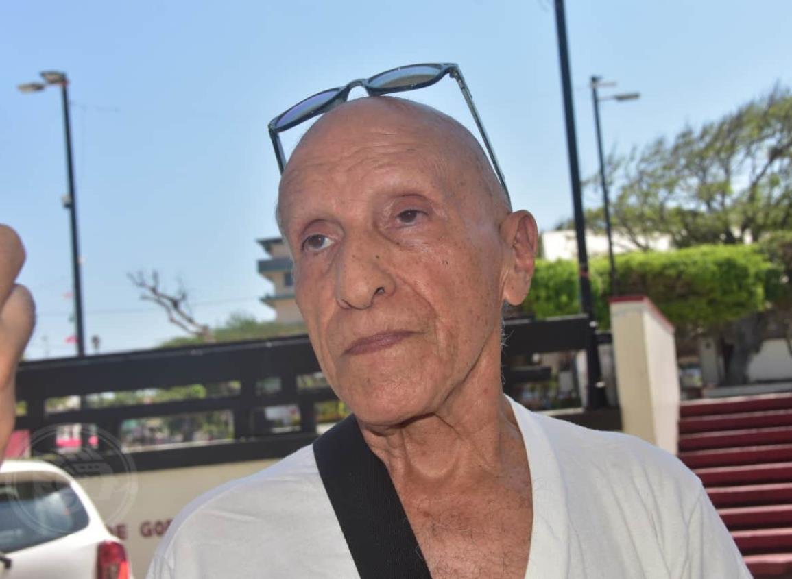 Reaparece José Antonio Peraza tras riesgosa enfermedad