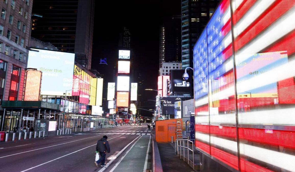 EUA supera a China e Italia en contagios por coronavirus