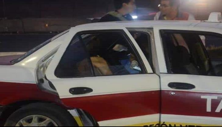 Hombre pierde la vida al interior de taxi en puerto de Veracruz
