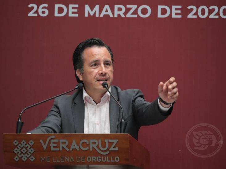 Veracruz disminuye labores; llama a no salir ante Jornada de Sana Distancia