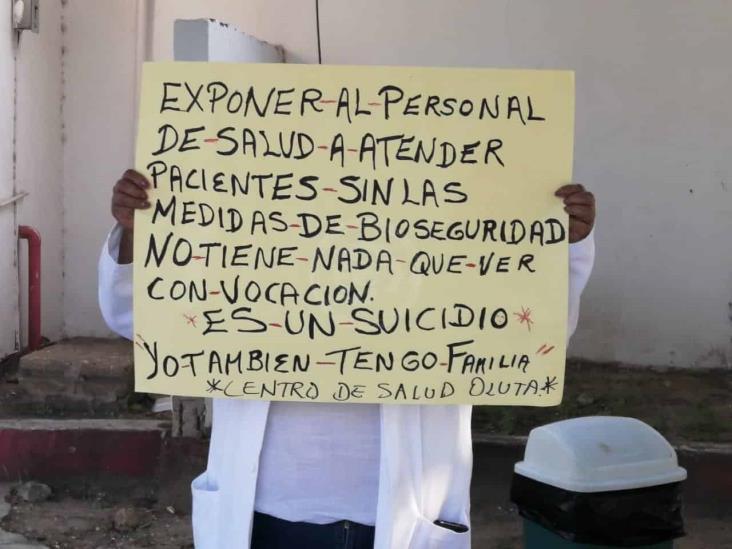 Trabajadores de Salud de Veracruz alistan movilización el 1 de julio