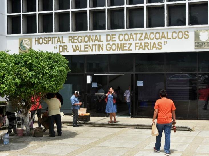 Urge cubrir vacantes en área Covid-19 del Hospital de Coatzacoalcos
