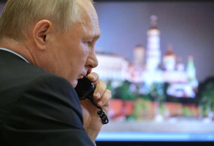 Putin prende alerta en Rusia por coronavirus