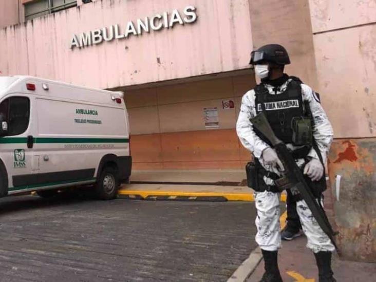 Guardia Nacional resguardará hospitales del IMSS en Poza Rica, Veracruz y Xalapa