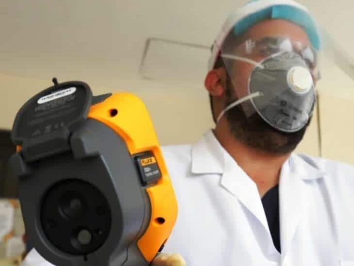 Jurisdicción XI instala cámara termográfica en filtro sanitario