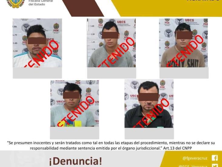 En Cereso de Coatza, presuntos secuestradores capturados en Las Choapas