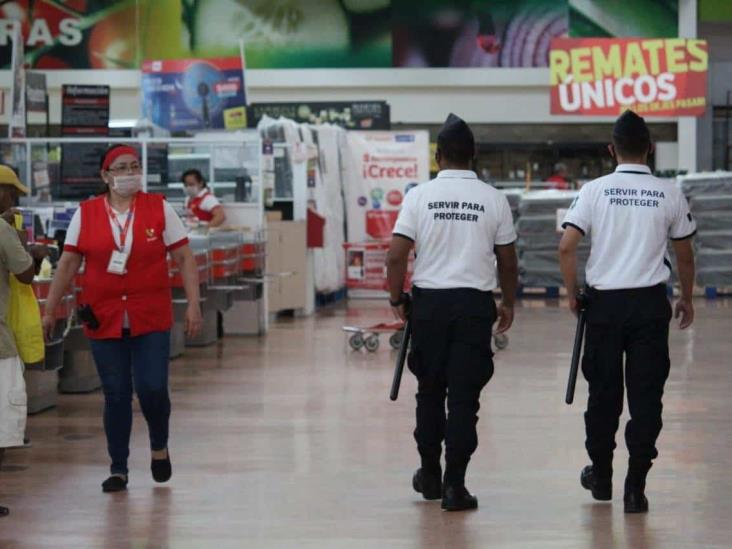 Ante contingencia operativos permanentes en supermercados, bancos y hospitales: SSP