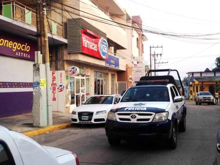 Tres robos a plena luz del día en el centro de Acayucan