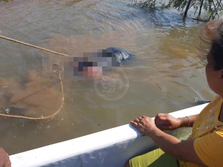 Encuentran cadáver de ahogado en Texistepec