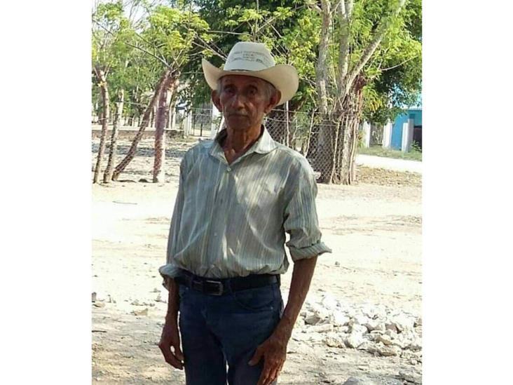 Desaparece abuelito de San Juan Evangelista
