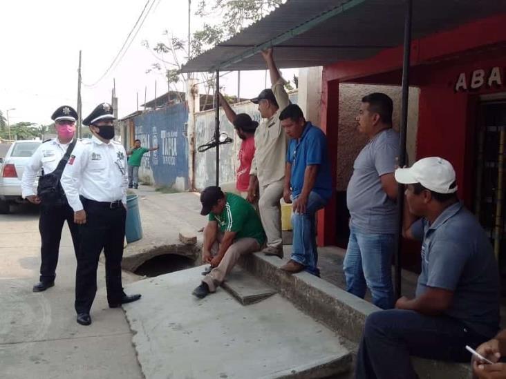 Taxistas de Jáltipan y de Lomas se disputan pasaje