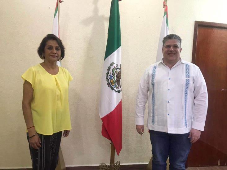 Se reúne Gutiérrez Maldonado con alcaldes del sur de Veracruz