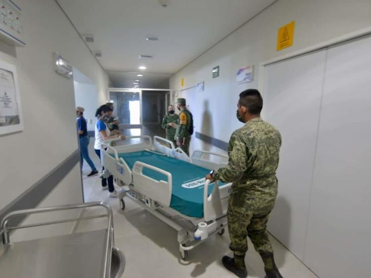 Supervisa CGJ reestructura de Hospital de Coatzacoalcos para COVID-19