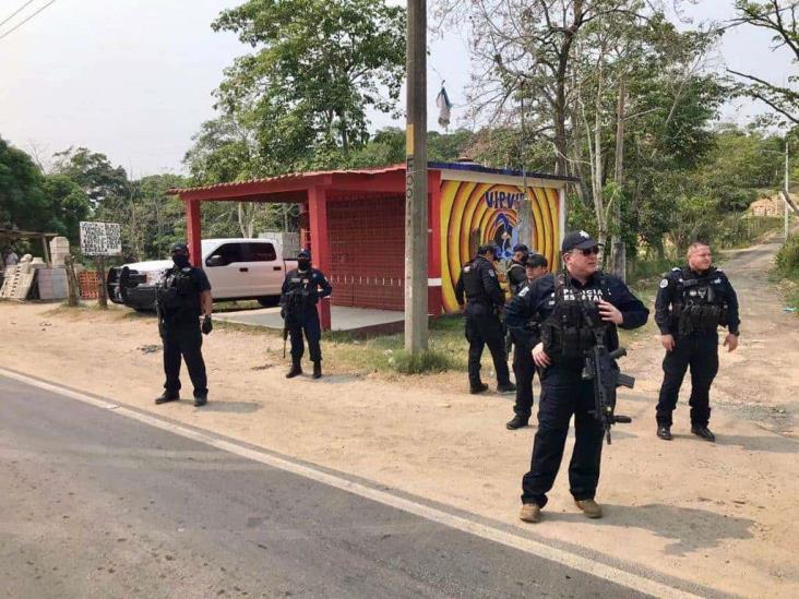 Encabeza Hugo Gutiérrez operativos en el sur de Veracruz