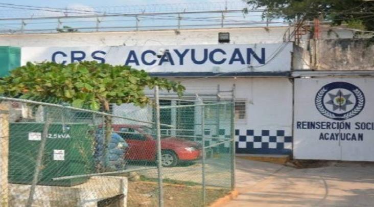 Suspenden visitas conyugales en el reclusorio de Acayucan