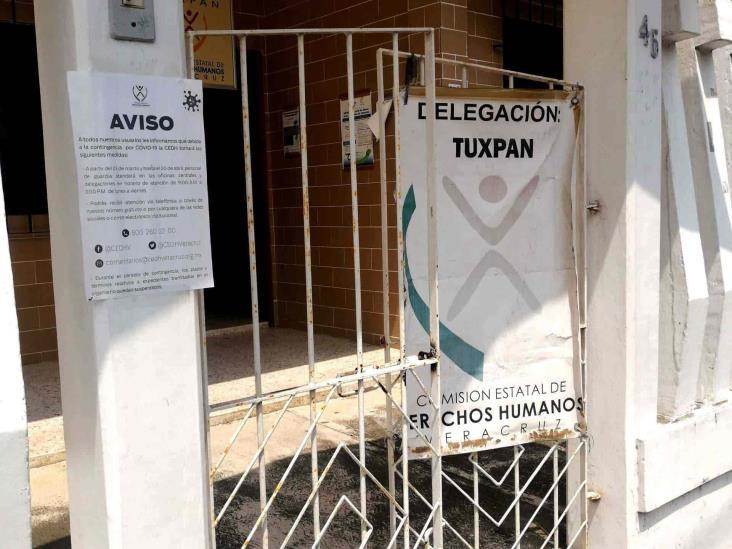 Aumentan intervenciones de Derechos Humanos en Tuxpan