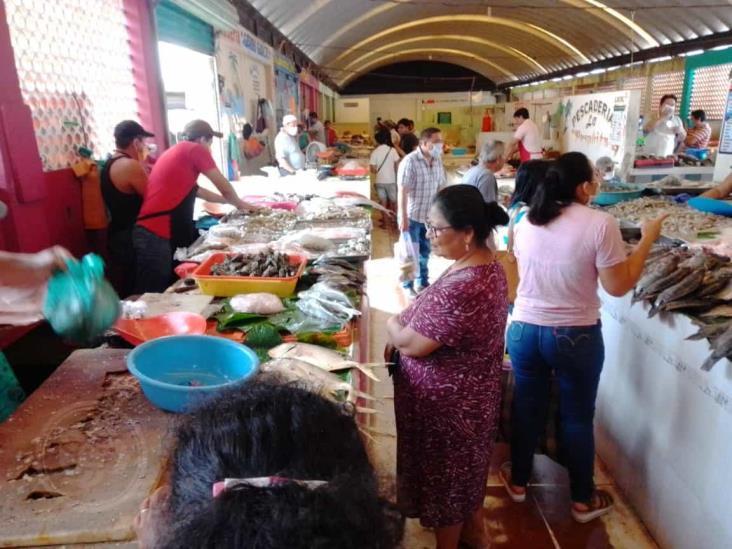 Cerrarán área de pescadería en el mercado Solidaridad de Mina