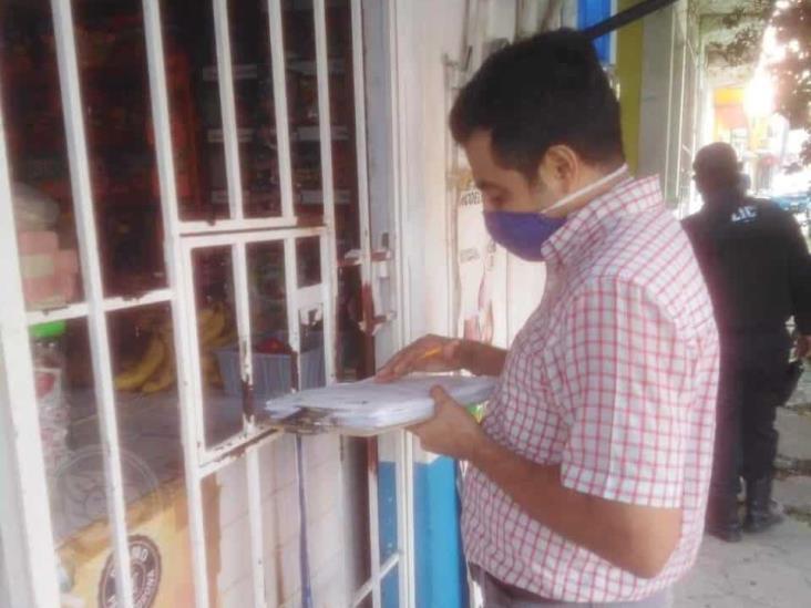 Notifican a bares y cantinas para cierre por Covid-19 en Minatitlán