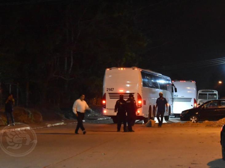 INM traslada a 74 migrantes a un albergue de Oluta