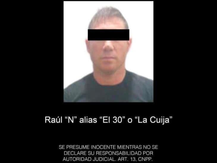 Capturan SSP y SEMAR a presunto líder delincuencial que operaba en la zona sur