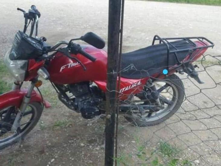 Detienen a soconusqueño por conducir motocicleta robada