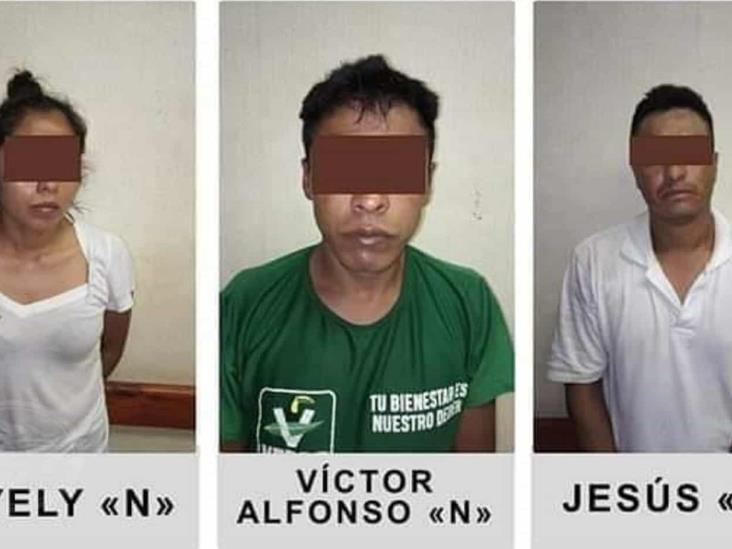 A proceso, tres narcomenudistas detenidos en Ciudad Isla