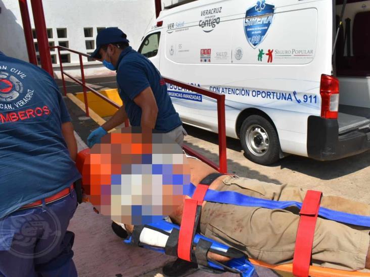 Ganadero fallece en fatal volcadura en camino de Acayucan
