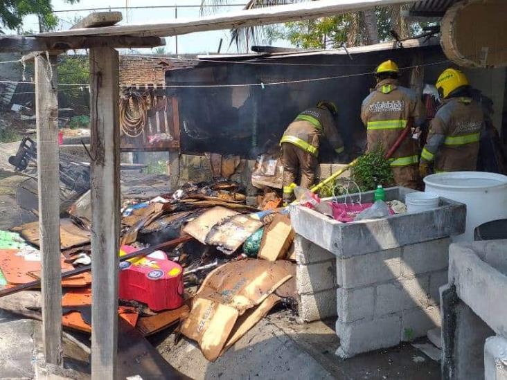 Quema irresponsable de basura provoca incendio en Veracruz