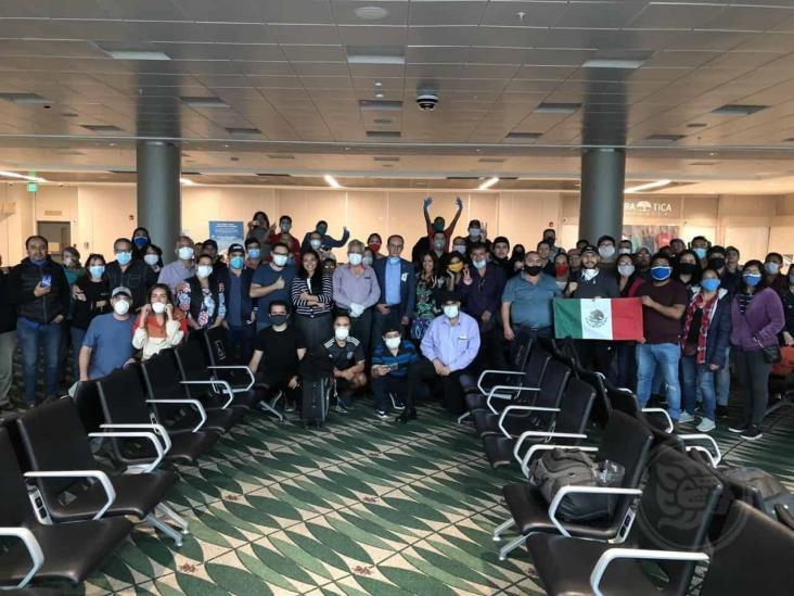 75 mexicanos repatriados desde Costa Rica