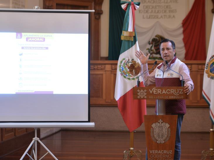 Extienden a 20 de mayo estrategia para aplanar curva del COVID- 19 en Veracruz