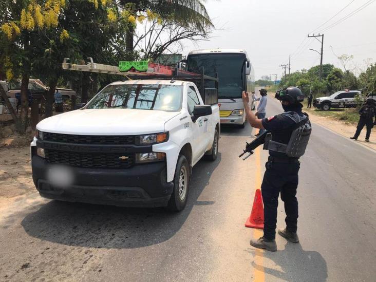Ataques al sur de Veracruz, en respuesta por operativos: SSP