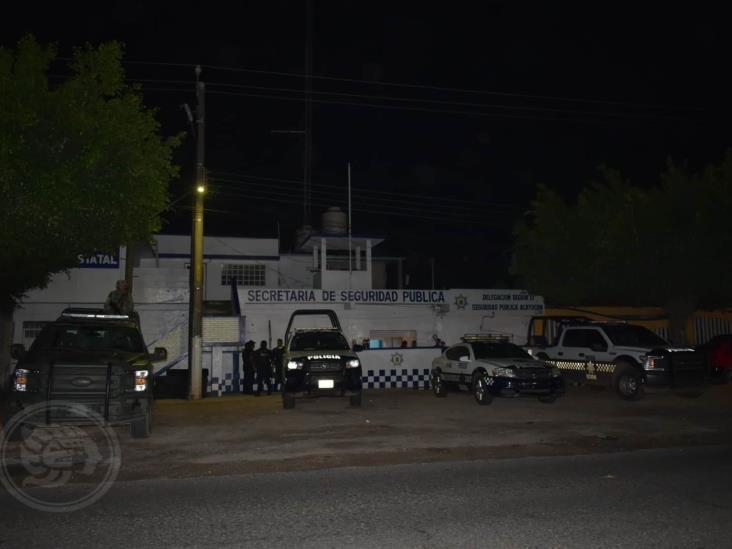Hombres armados atacan bases de SSP en la zona sur de Veracruz