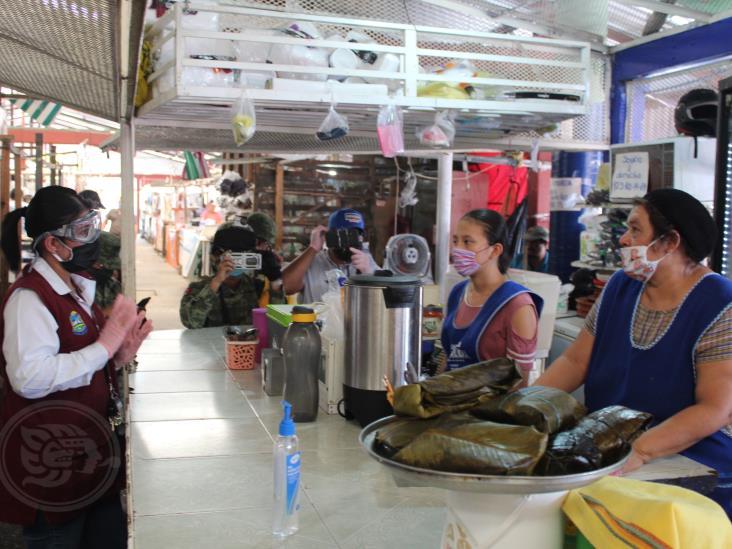Mercado Campesino de Agua Dulce, no acata medidas de prevención