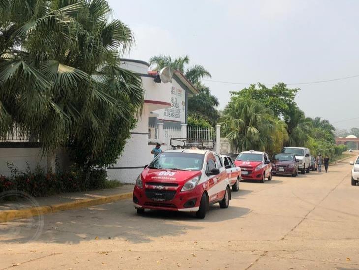 Taxistas de Cosoleacaque, buscan apoyo del gobierno para no endeudarse más