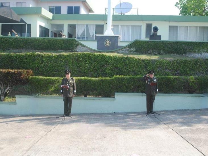 Asignan nuevo comandante en zona militar de Tuxpan