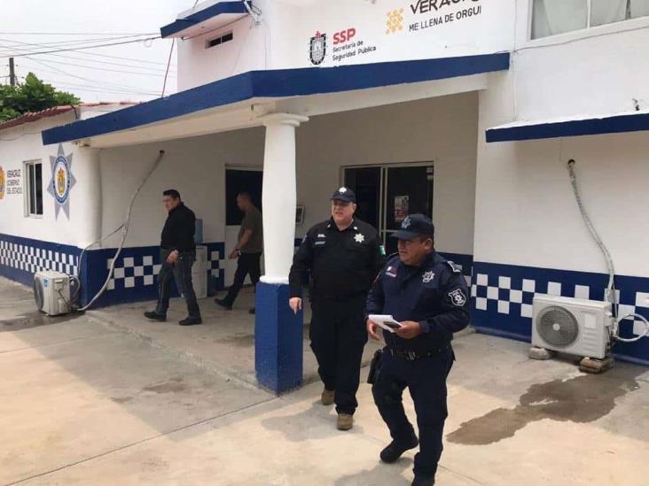 Supervisa Hugo Gutiérrez seguridad al sur de Veracruz