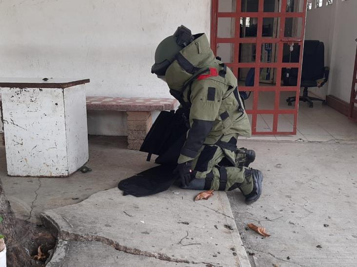 Ejercito desactiva granda; Había sido utilizada en ataque a instalaciones de SSP