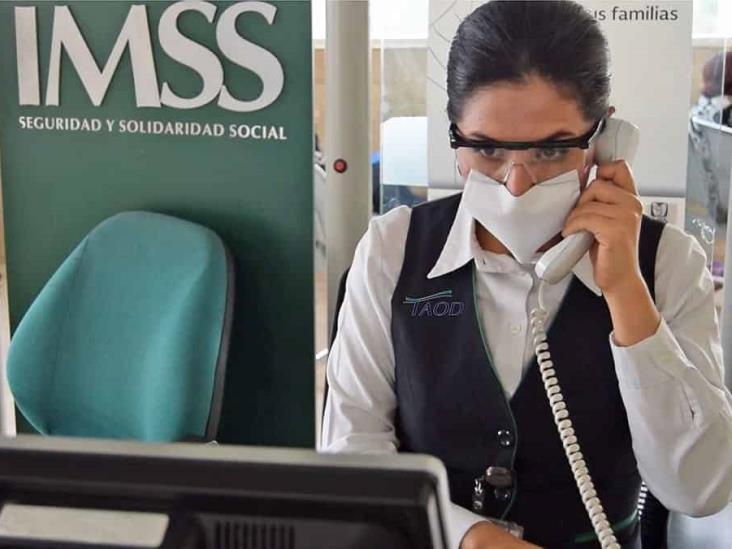 Habilita IMSS reprogramación de citas vía telefónica