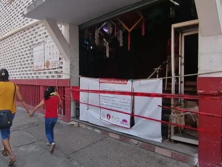 Controlan accesos a mercados Coatzacoalcos y Morelos