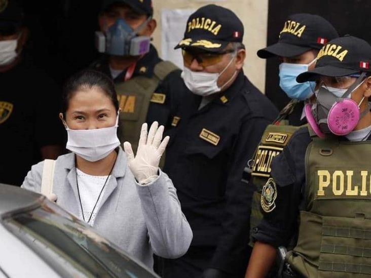 Sale Keiko Fujimori de prisión