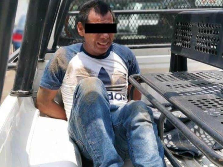 Elementos de SP capturan a presunto violador en Veracruz