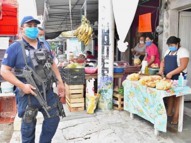 Obligatorio uso de cubrebocas en espacios públicos de Chinameca