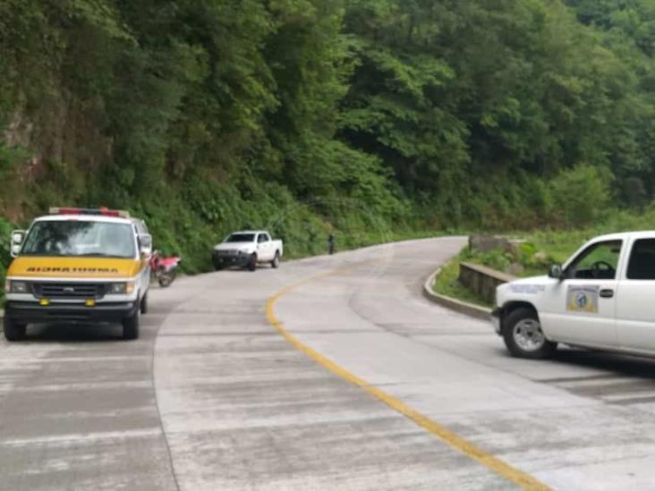 Hallan cuerpos con huellas de violencia junto a carretera Misantla-Xalapa