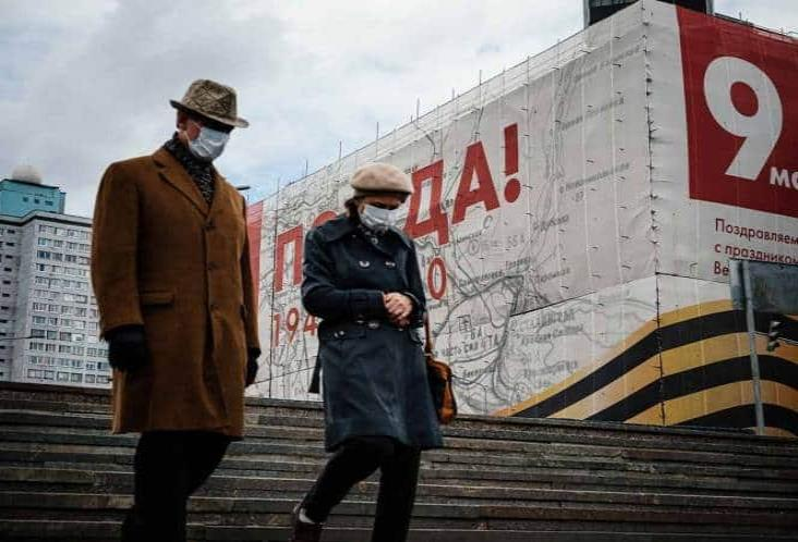 En Rusia te multan con mil 600 pesos por no usar cubrebocas