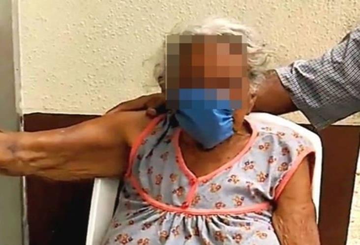 Abuelita de 102 años supera enfermedad respiratoria