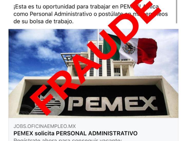 Alerta Pemex sobre supuestas ofertas laborales