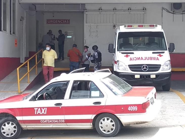 Mujer muere de infarto en Coatza; no alcanzó a llegar a la Cruz Roja