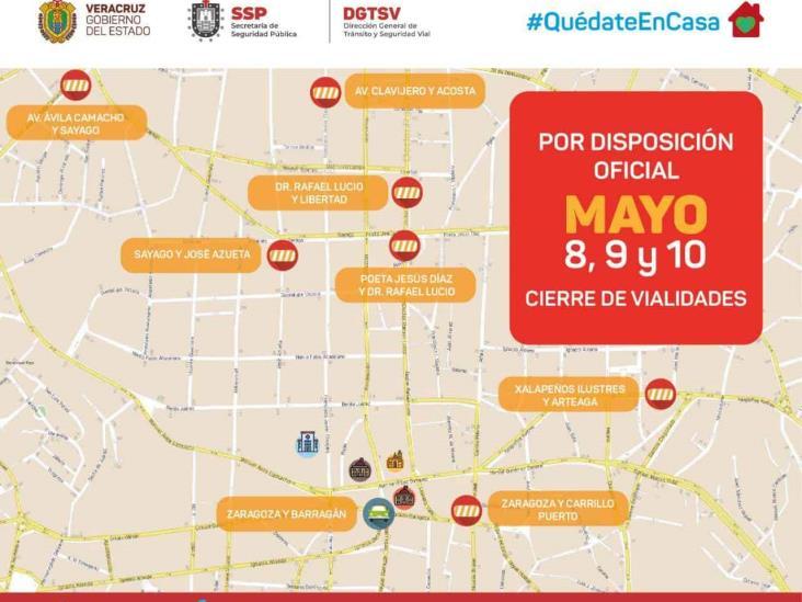 A partir de mañana, cierres a la circulación en principales ciudades del estado: SSP