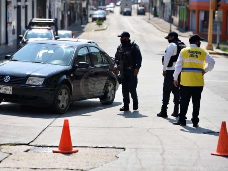 #QuédateEnCasa: cierran calles del centro de Xalapa