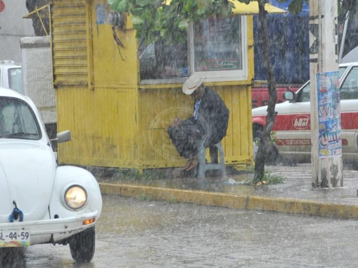 Pronostican lluvias y norte durante el fin de semana en Veracruz